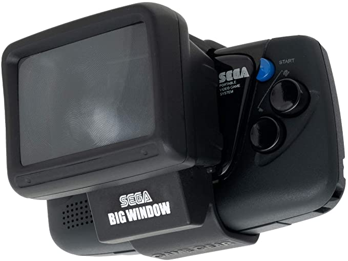 Sega Big Windows add-on for the Game Gear Micro