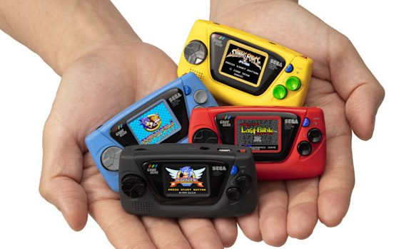 Game Gear Micro - all colours