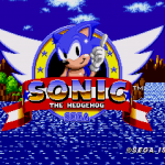 Sonic the Hedgehog - Title screen