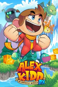 Alex Kidd in Miracle World DX Box Art