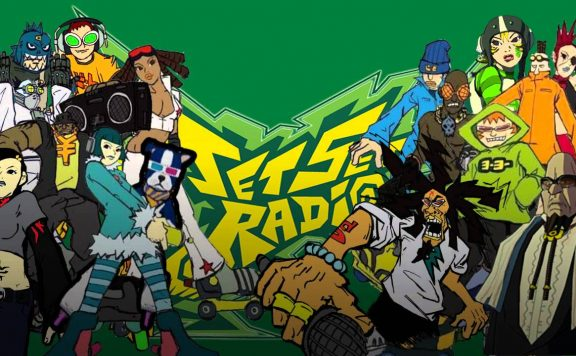 Jet Set Radio Background