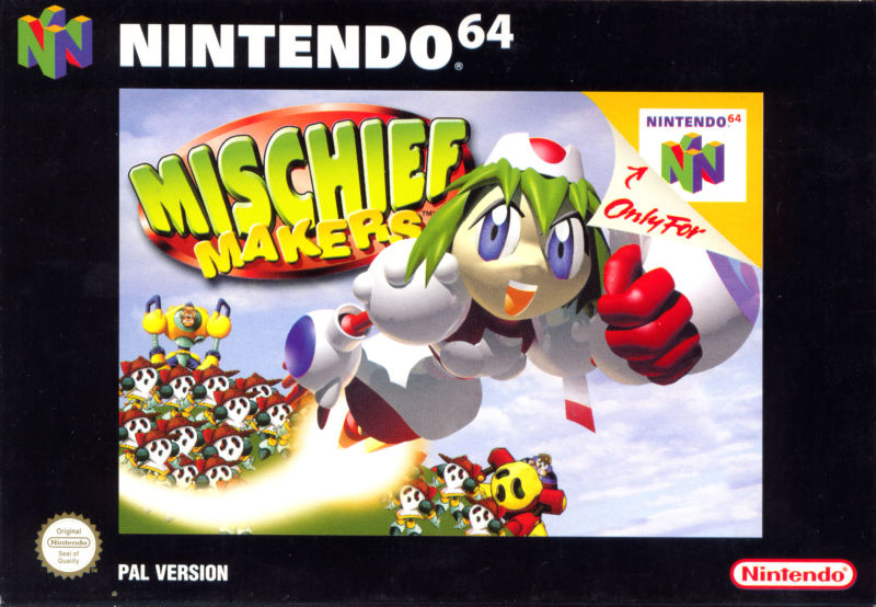 Mischief Makers Box Art