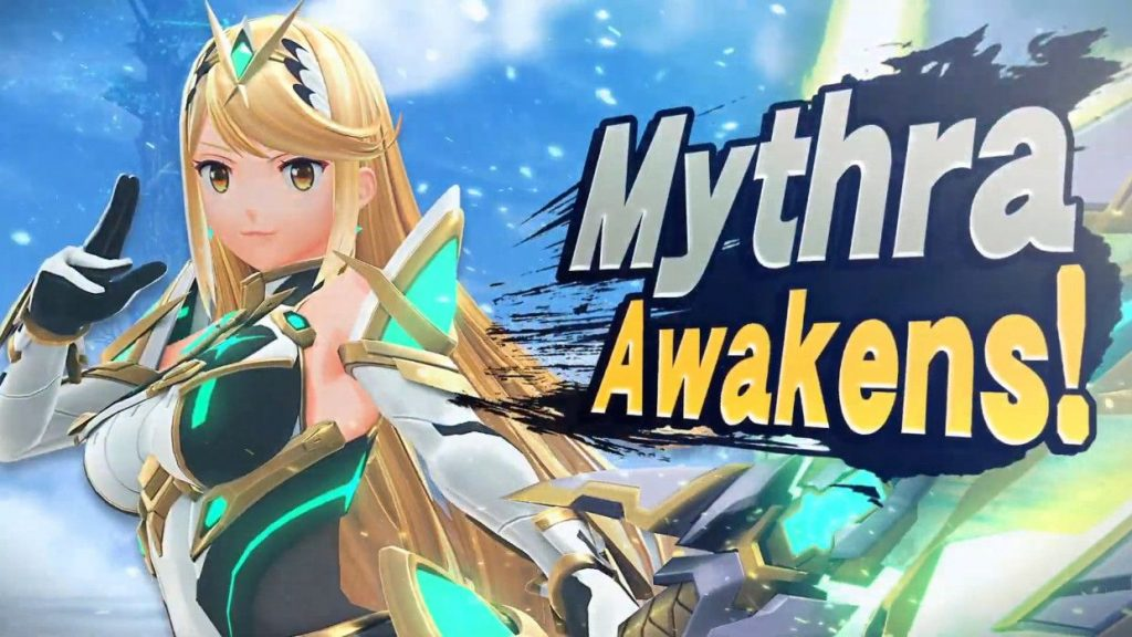 Mythra awkens to fight