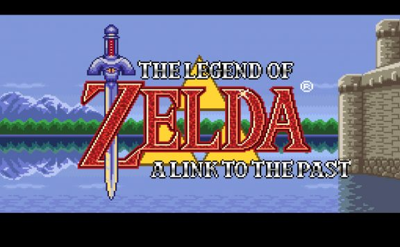 Link to the Past Title Screen