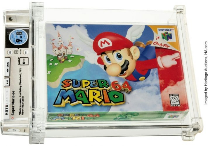 Mario 64 - The Most Expensive Game Ever Sold